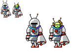 Shovel Knight OCs - UFO Knight Sprite