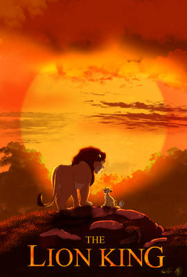 2019TheLionKing poster(animation version)