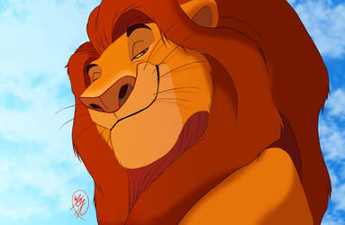 dignified King by sasamaru-lion