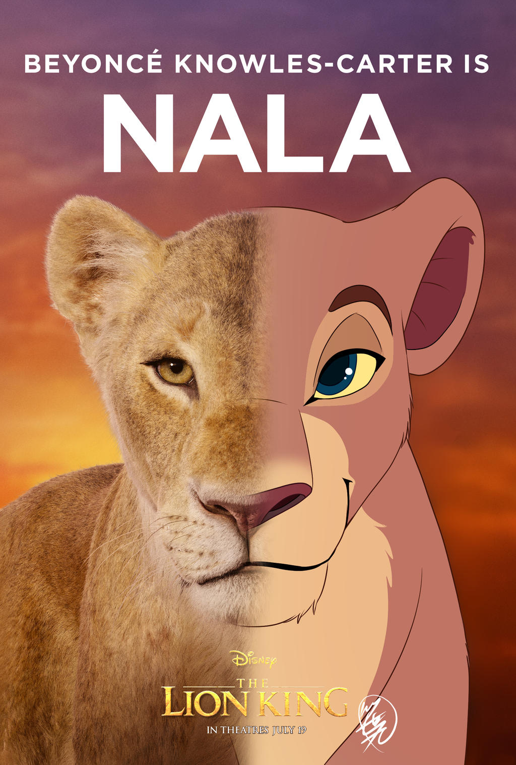 2019 The Lion King Nala By Sasamaru Lion On Deviantart