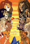 LIONKING 1994-2019 by sasamaru-lion