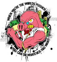 The World's Pusher by luvataciousskull