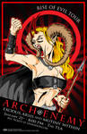 Arch Enemy Tour Poster 2010