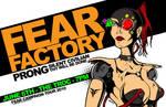 Fear Factory Tour Poster 2010