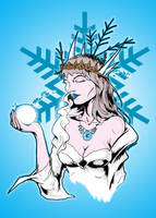 The Snow Queen by luvataciousskull