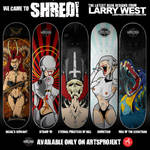 2010 Skateboard Designs by luvataciousskull