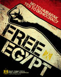 FREE EGYPT Poster