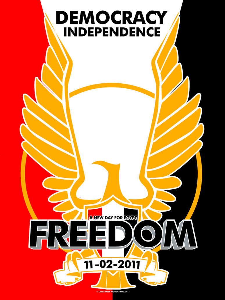 EGYPT IS FREE by luvataciousskull