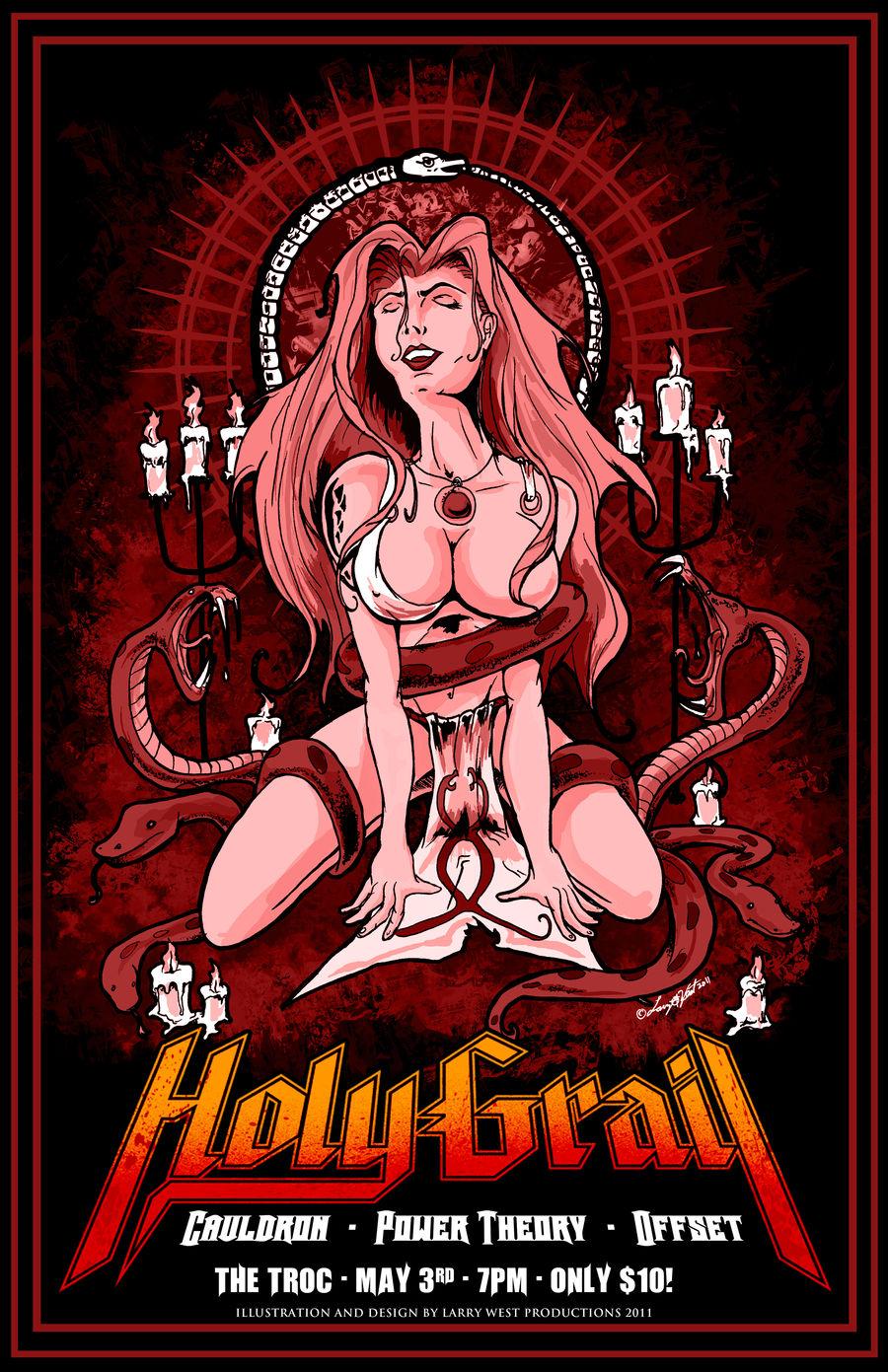 Holy Grail Gig Poster 2011