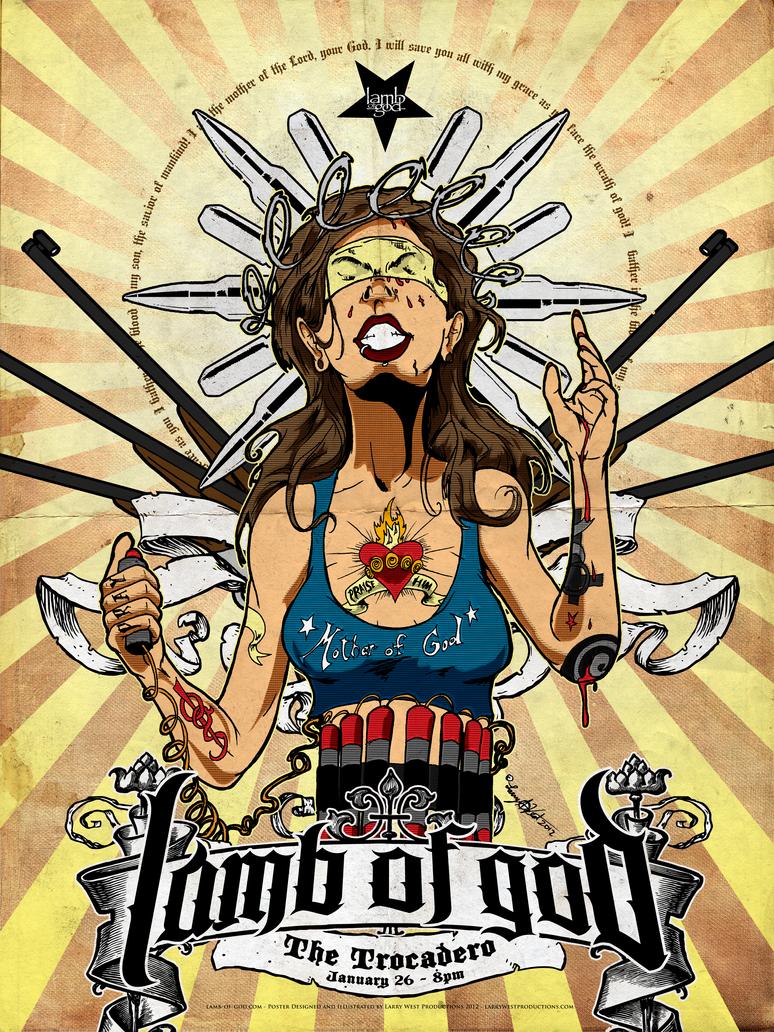 Lamb Of God 2012 Poster