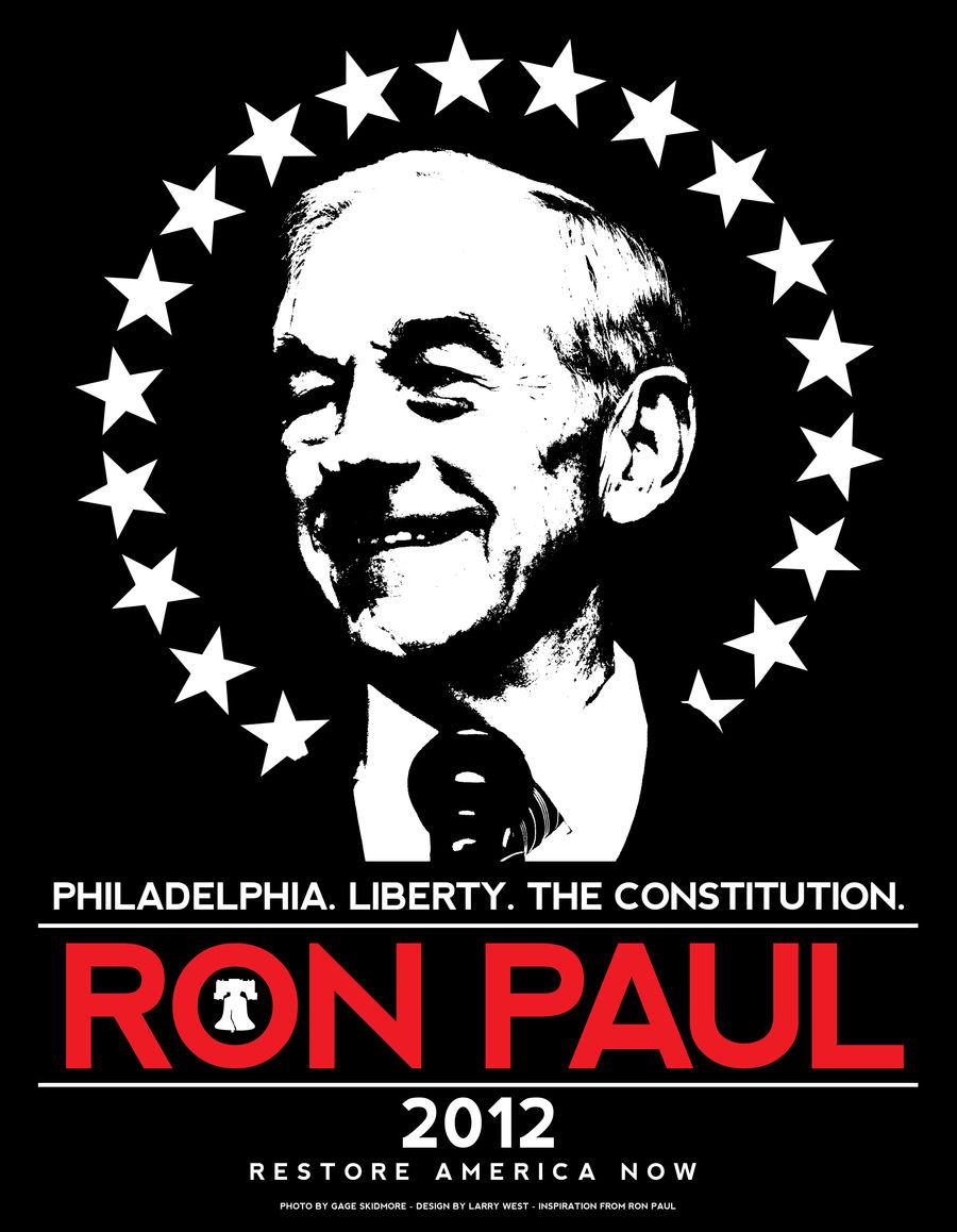 Ron Paul 2012 - Official Philadelphia Shirt Design