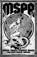 MSPR - Mark Skull Pirate Radio - Demoness Frazetta by luvataciousskull