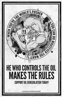 He Who Control's the Oil by luvataciousskull