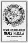 He Who Control's the Oil