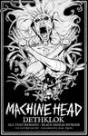 FAMINE - Machine Head / Dethklok 2012 Gig Poster
