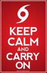 Hurricane Sandy - Keep Calm and Carry On!