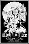 DEATH - High on Fire / Goatwhore 2012 Gig Poster