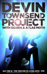 Devin Townsend Project - 2013 Gig Poster