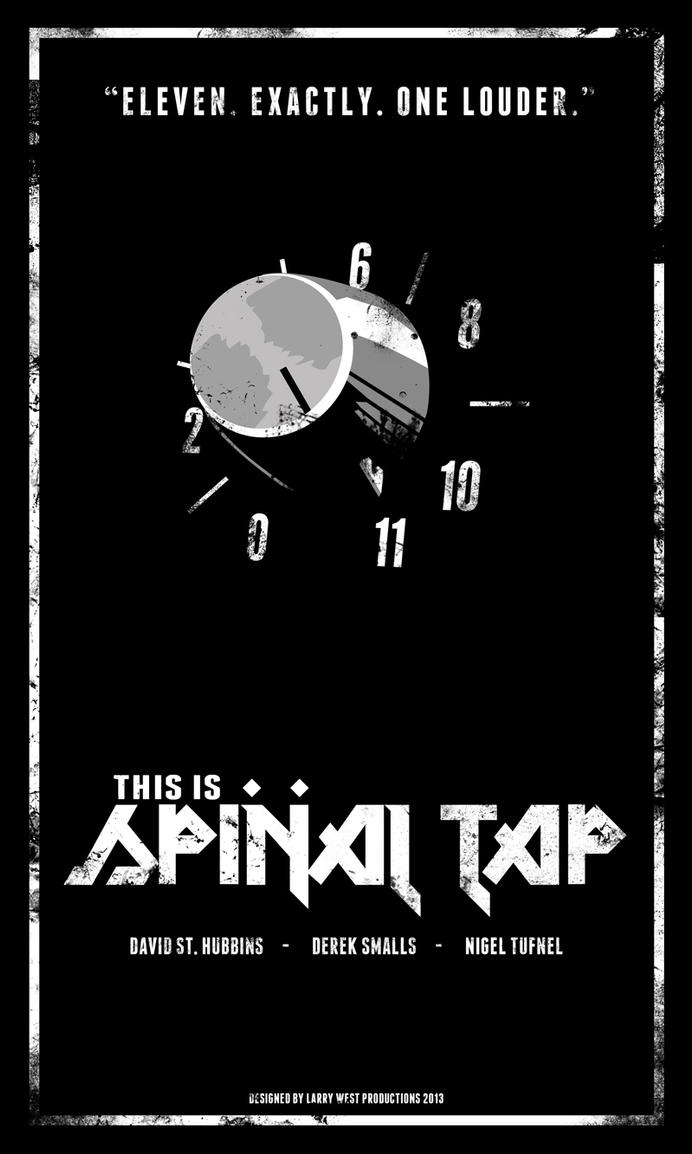 this is spinal tap movie poster by luvataciousskull on deviantart. Black Bedroom Furniture Sets. Home Design Ideas