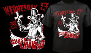 Wednesday 13 - Curse The Living T-Shirt