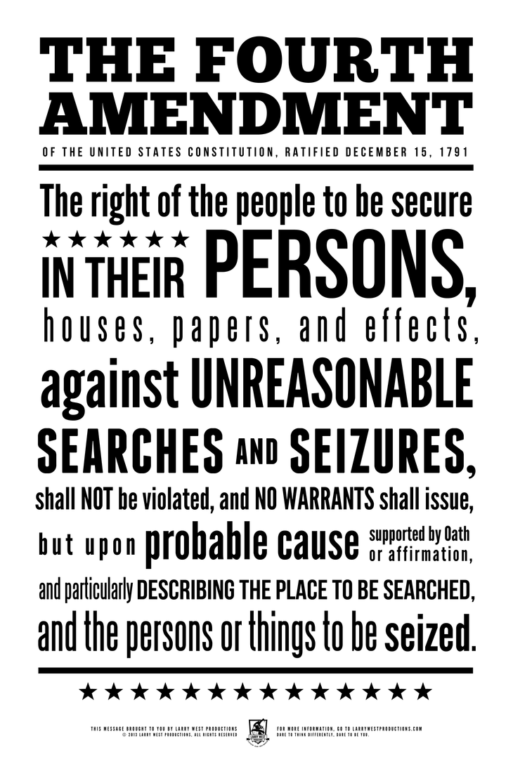 freedom against unreasonable search and seizure Police seizure of text messages violated 4th protection against unreasonable searches and seizures because people first search warrant.