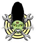 Bride of Frankenstein - Hot Rod Logo