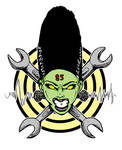 Bride of Frankenstein - Hot Rod Logo