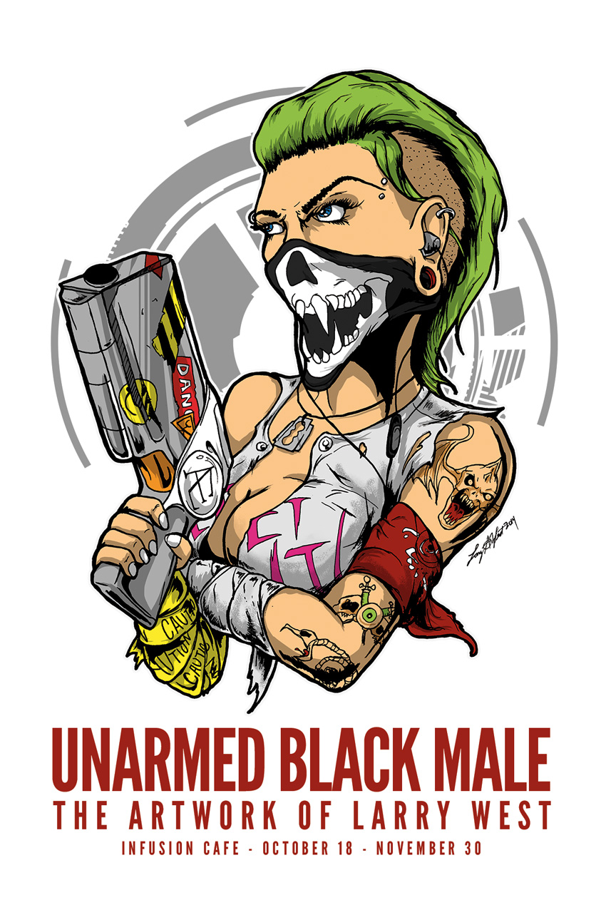 Unarmed Black Male - The Artwork of Larry West