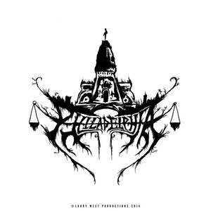 Philadelphia Black Metal Logo - Long Cold Winter