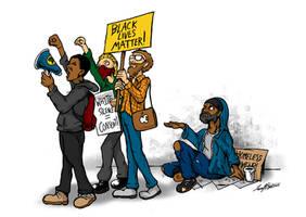 Black Lives Matter! by luvataciousskull