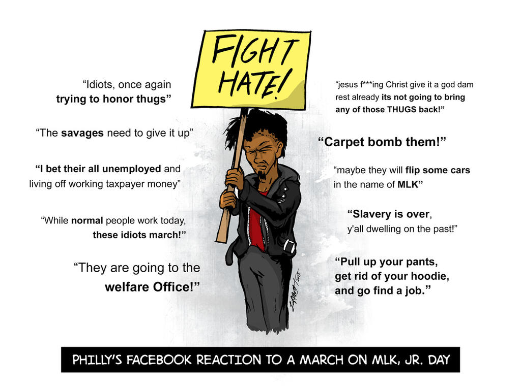 This Is Why We March on MLK, Jr. Day by luvataciousskull