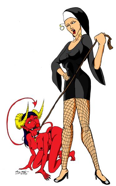 Bad Demoness! by luvataciousskull