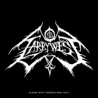 Larry West Black Metal Logo by luvataciousskull