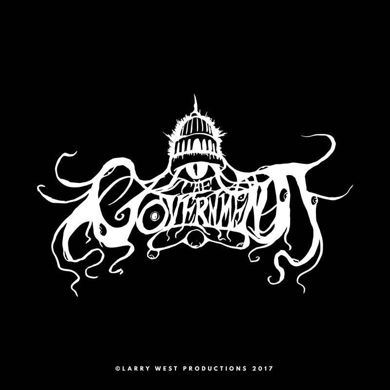 The Government Black Metal Logo by luvataciousskull