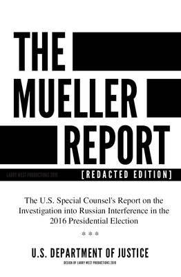 The Mueller Report [Redacted Edition] Cover