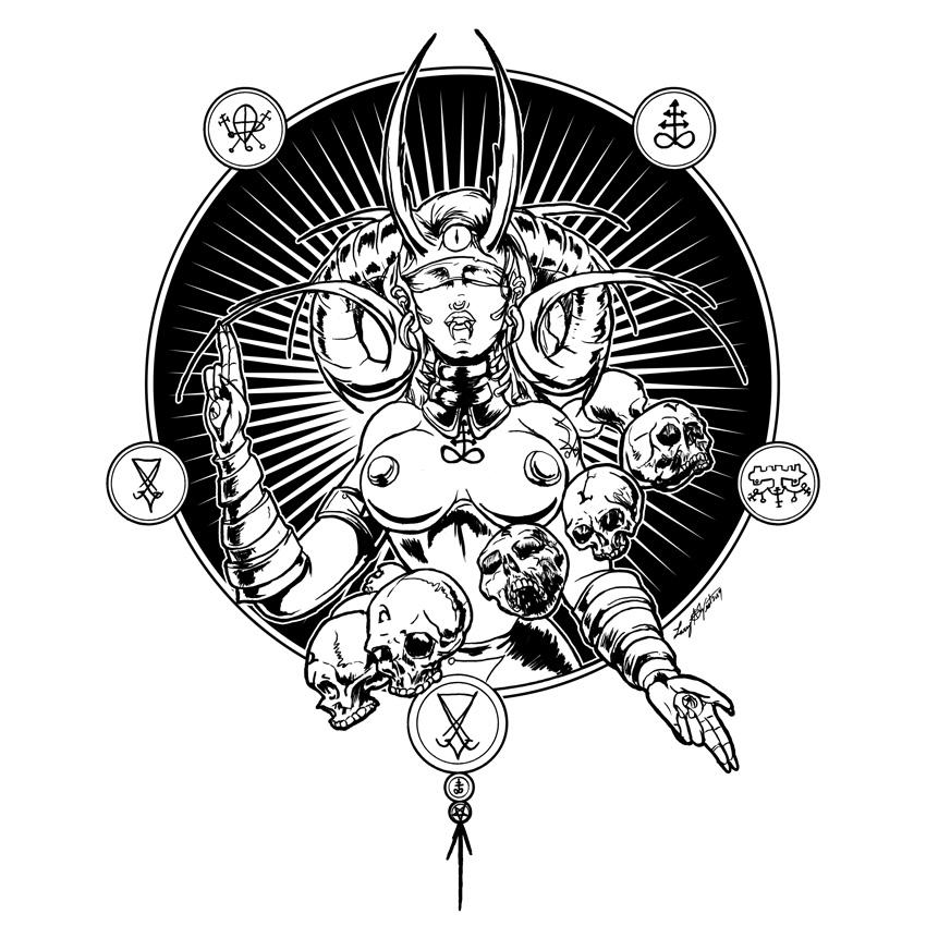 Blind Prophet by luvataciousskull