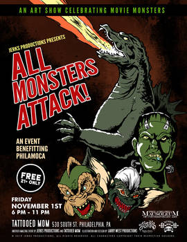 Jerks Productions Present: All Monsters Attack!