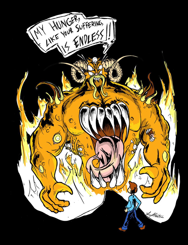 Demonic Garfield