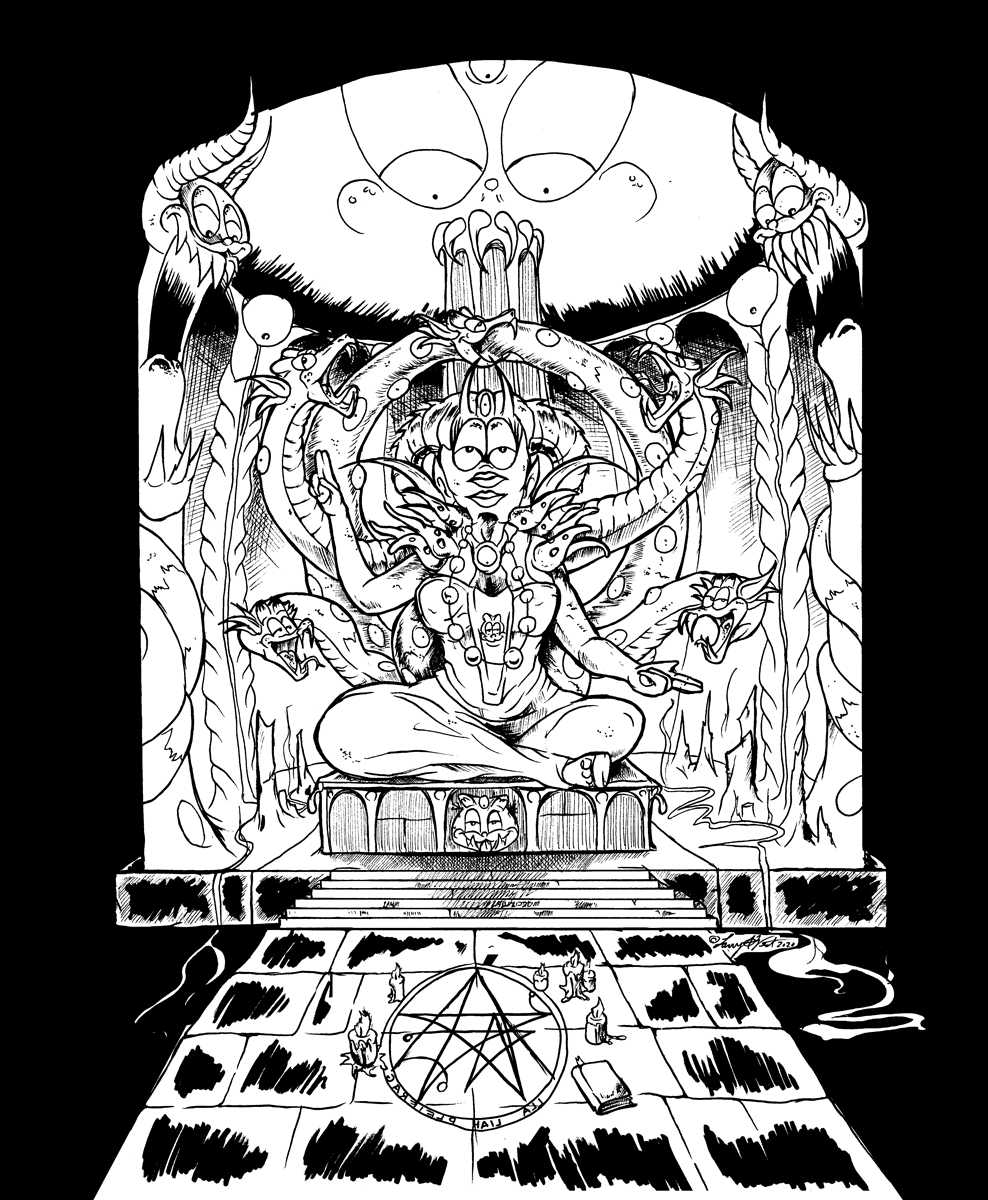 Temple of Liz, Goddess of Reincarnation