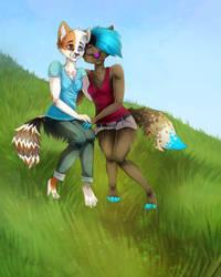 Bienie and Griwi by Iscora