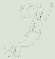 mermaid by Iscora