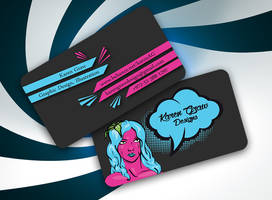 Karen Graw Business Card Design 2