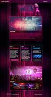 Valium Nightclub Website Redesign