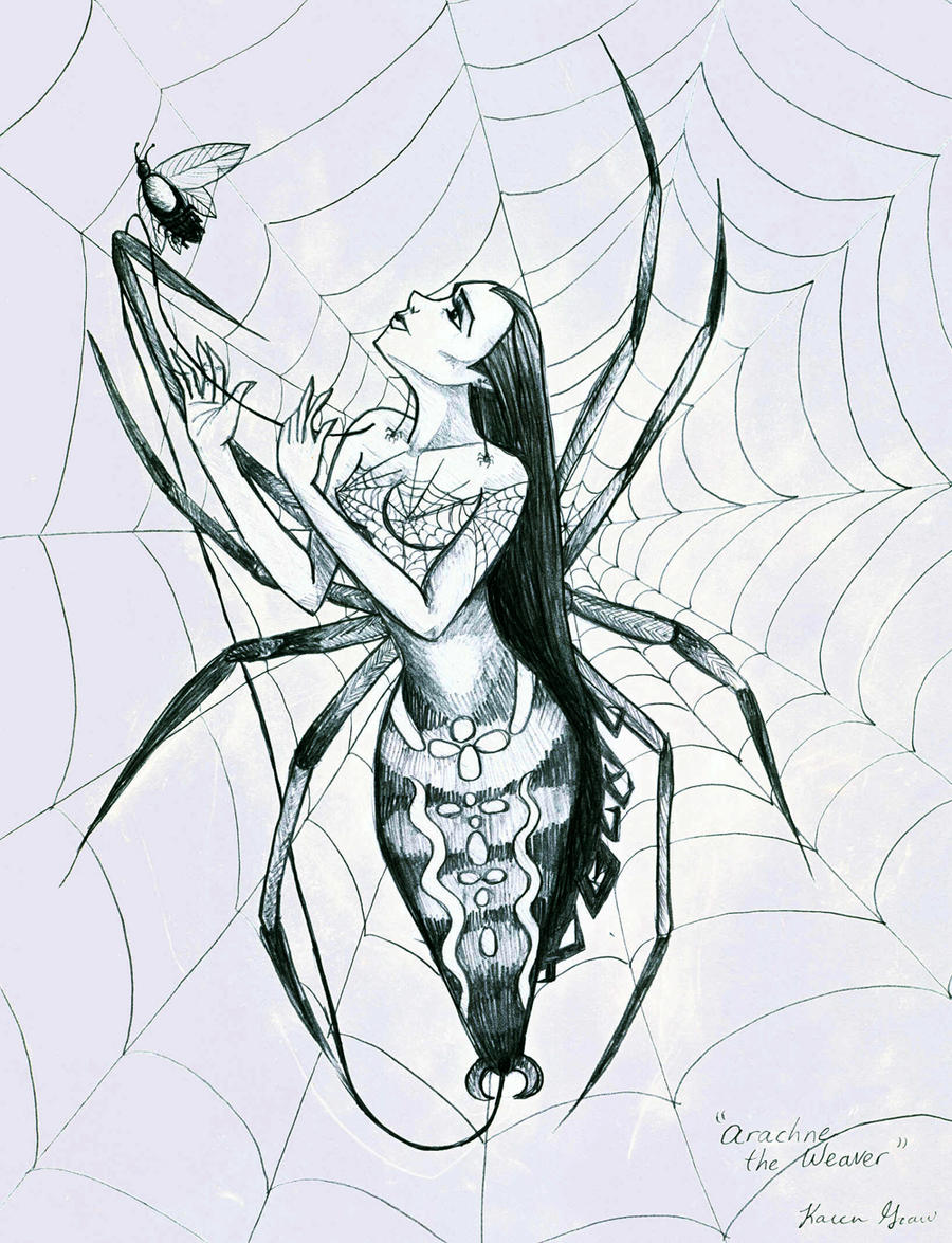 Arachne, the Spider by Avalonis