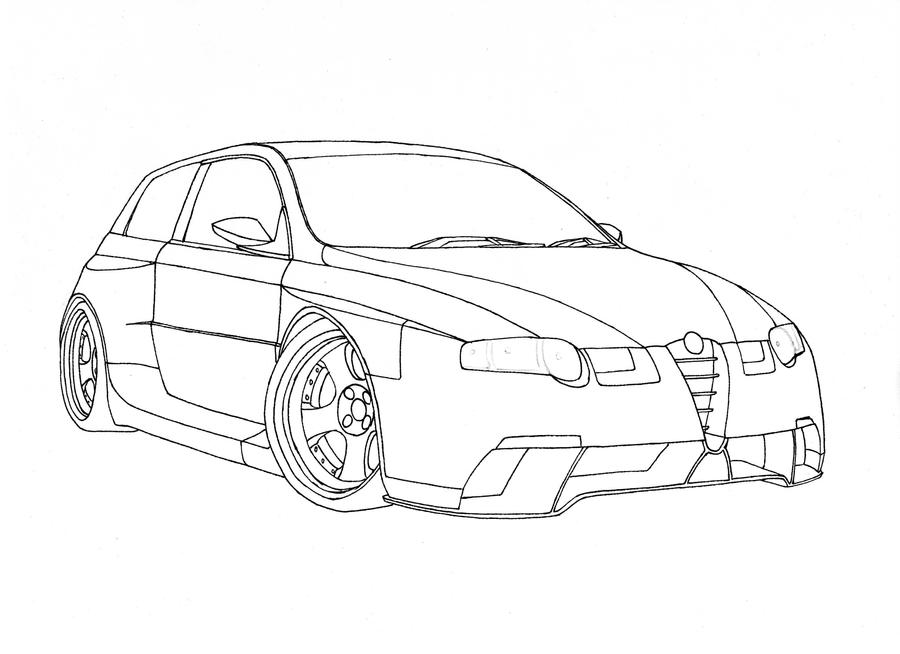 alfa romeo 147 bk design by bonta on deviantart