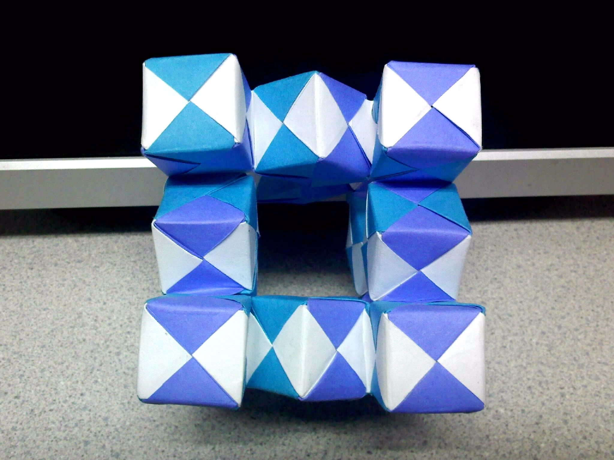 how to make a cool origami thing