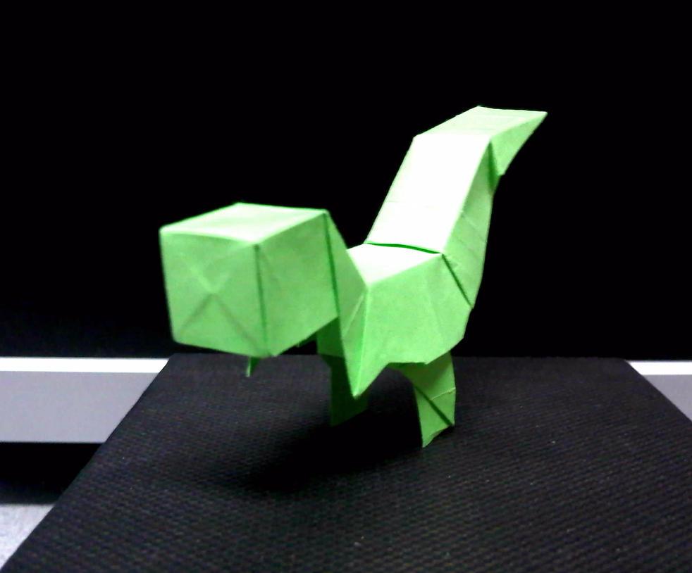 Easy t Rex Origami Origami Dinosaur t Rex