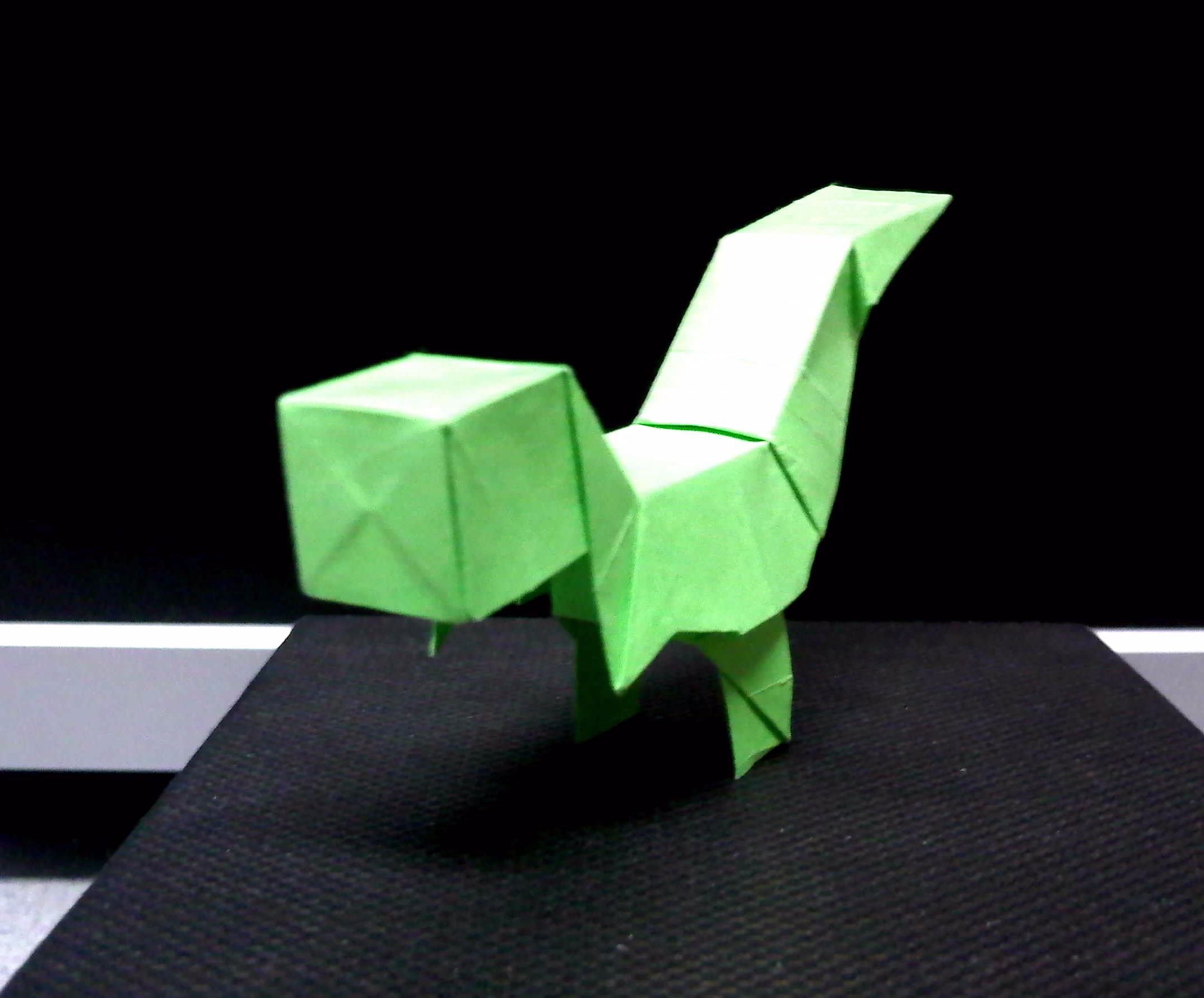 Origami T-Rex easy Dinosaur - Origami easy tutorial - YouTube | 1781x2149