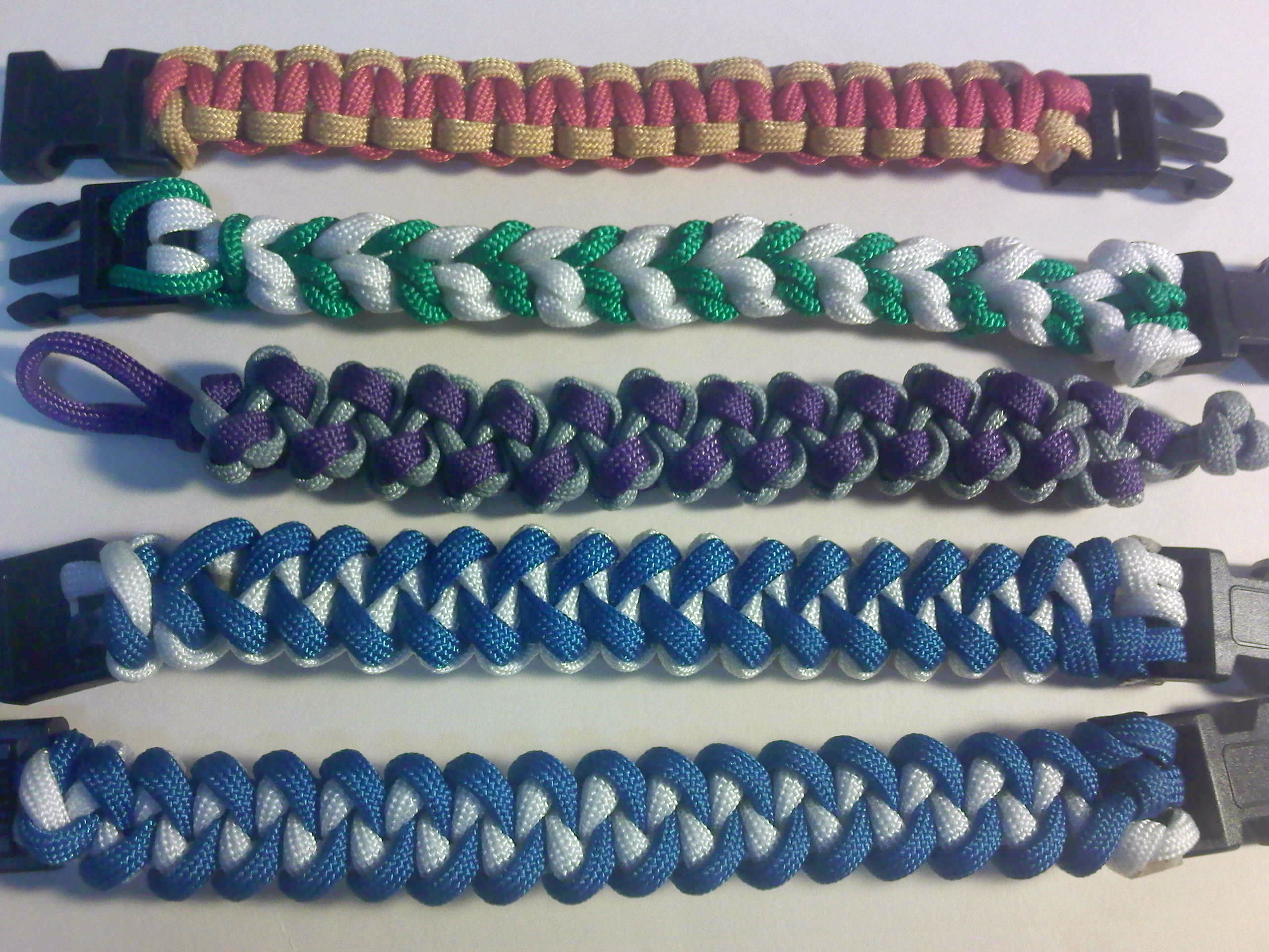 Paracord types set 1 by theorigamiarchitect on deviantart for Paracord wallpaper