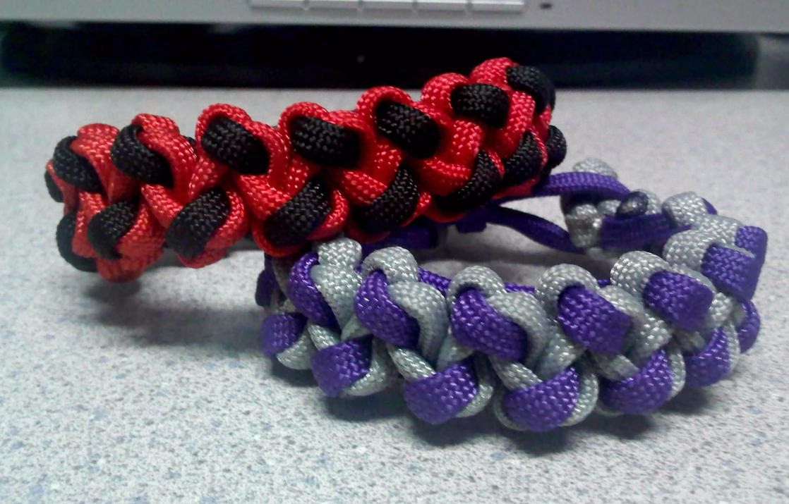 Tentacle bar paracord bracelets by theorigamiarchitect on for Paracord wallpaper